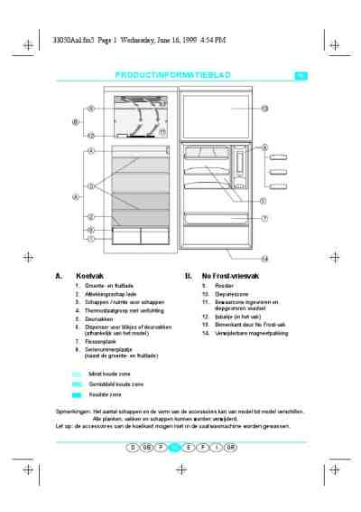 WHIRLPOOL ART 965 G Fridge/ Refrigerator download manual