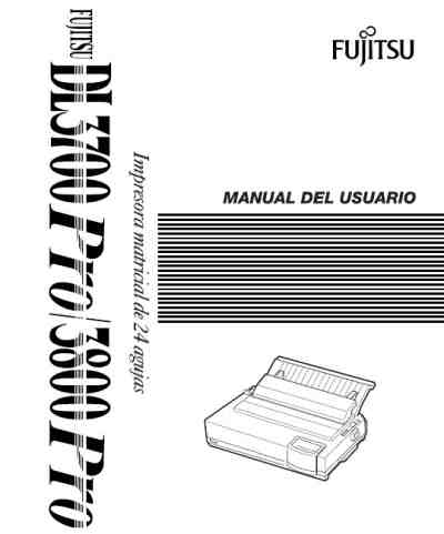 FUJITSU DL3800 Printer download manual for free now
