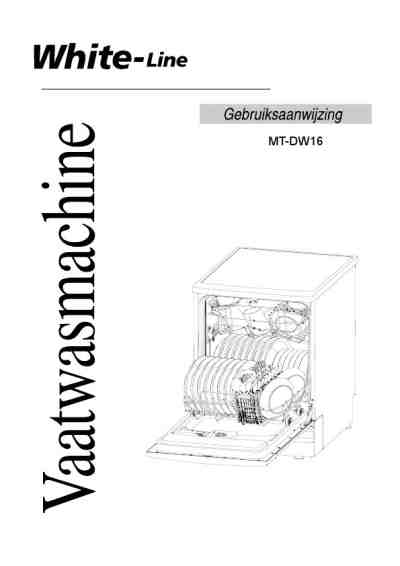 WHITELINE MT-DW 15 Dishwasher download manual for free now