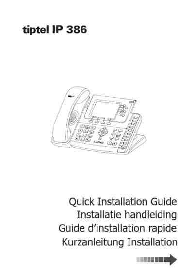 TIPTEL IP 386 Mobile phone download manual for free now
