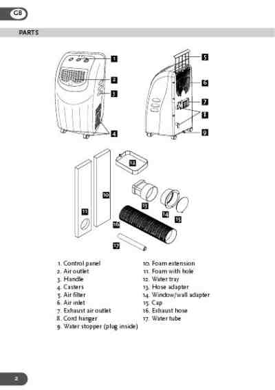 AMCOR AMB12KM-410 Air conditioner download manual for free