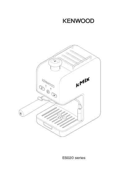 KENWOOD ES024 Coffee maker download manual for free now