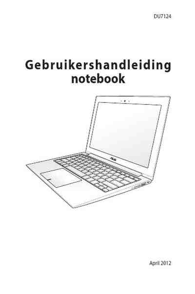 ASUS ZENBOOK UX21A Notebook download manual for free now
