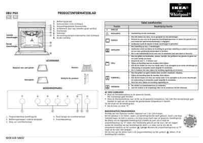 WHIRLPOOL OBU P60 S Oven download manual for free now