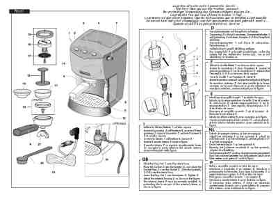 GAGGIA EVOLUTION Coffee maker download manual for free now