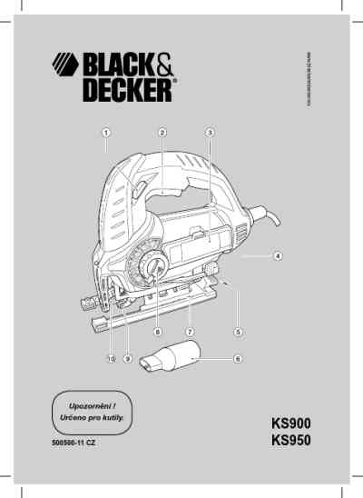 BLACK-DECKER KS950SW Tools download manual for free now