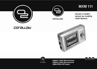 OXYGEN MXM 111 GB 1 FM CORALLOID MP3 player/ walkman
