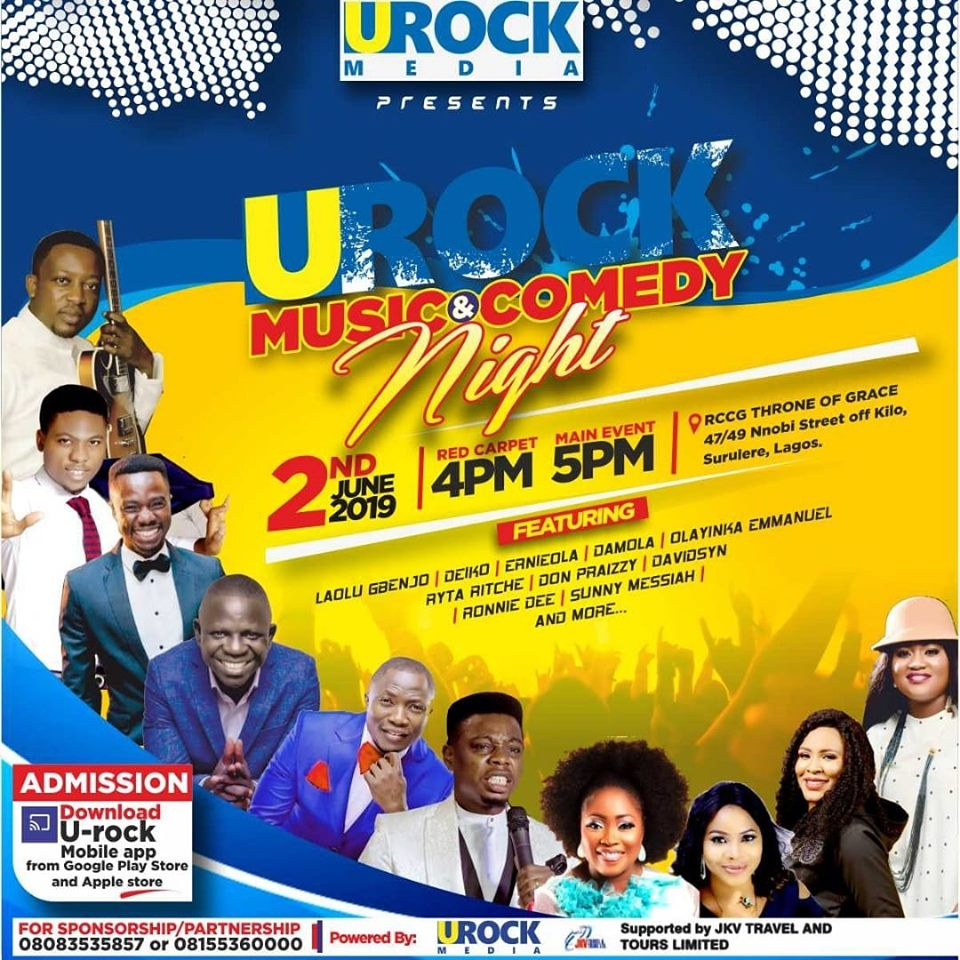 Get ready for the best ever Music & Comedy Nite in the city of Lasgidi.