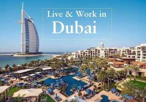 Live and work in Dubai with job and accommodation.