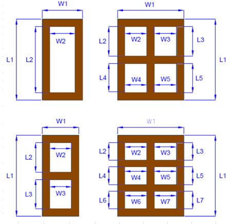 u-value for timber framed wood window and doors