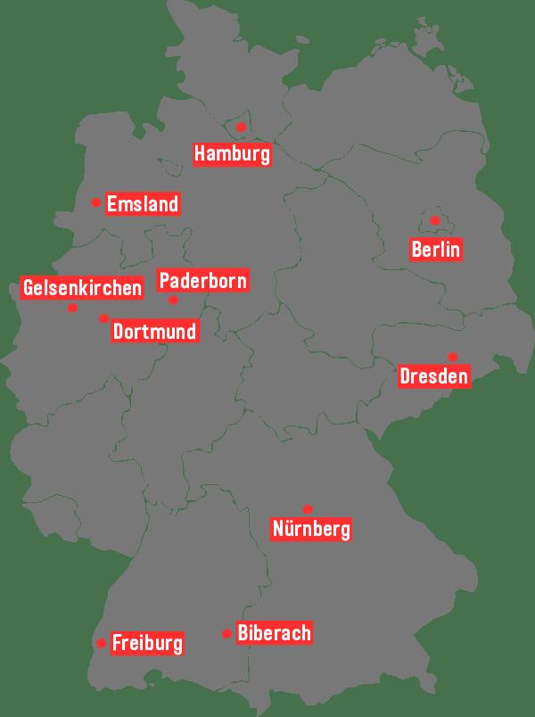 [U25] Standorte
