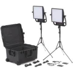 U2MG Litepanels Astra 1x1 Bi-Color LED Traveler Kit