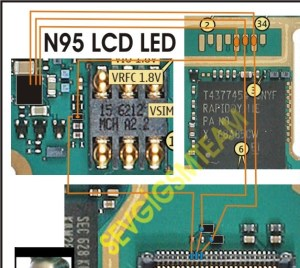 Nokia N95 Lcd Lights problem solution here