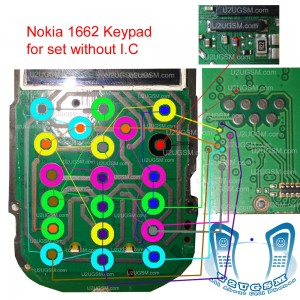 Cell Firmware: Nokia 1662 Keypad Ways Without Sim Ic Problem Solution Jumpers By cell firmware