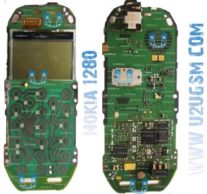Nokia 1280 Full PCB Diagram Mother Board Layout