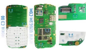 Nokia C300 Full PCB Diagram Mother Board Layout