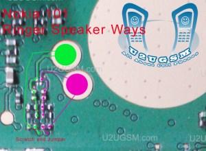 Nokia 101 Ringer Speaker Problem Ways Solution Jumpers