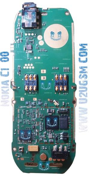 Nokia C100 Full PCB Diagram Mother Board Layout – U2UGSMCOM