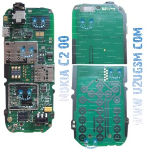Nokia C200 Full PCB Diagram Mother Board Layout