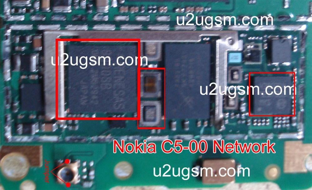 medium resolution of nokia c5 00 network ic solution jumper problem