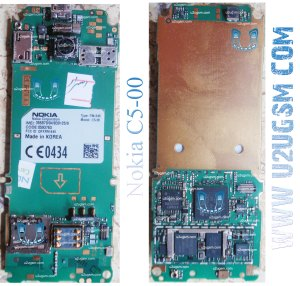 Nokia C5 Full PCB Diagram Mother Board Layout