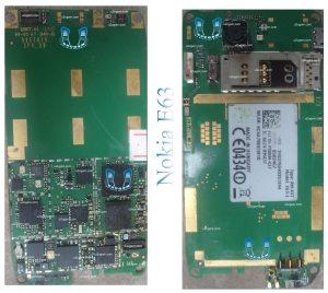 Nokia E63 Full PCB Diagram Mother Board Layout