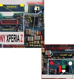 schematic diagram xperium z [ 1030 x 934 Pixel ]