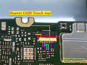 Huawei Ascend G620 touch screen not working problem