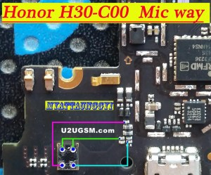 Huawei Honor 3C H30C00 Mic Problem Jumper Solution Ways