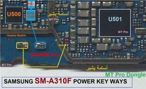 Samsung Galaxy A3 2016 A310 Power Button Solution Jumper Ways