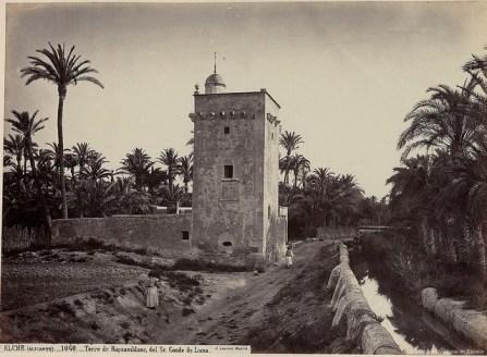 1870 Torre de Resemblanc. Elche