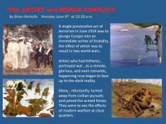 Art History Talk: Artist At War