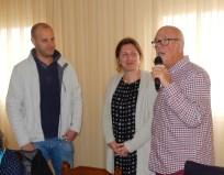 Victor Giner, Laura Hillstead and John Hopwood