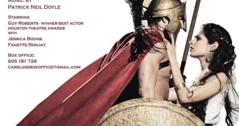8,9 March The Trojan War, An Iliad - Careline Theatre