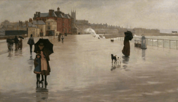'The Rain It Raineth Every Day' Norman Garstin (1889)