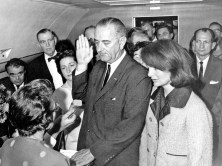 LBJ swearing-in on AF1