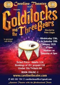 Careline Theatre presents Goldilocks and the Three Bears @ Careline Theatre