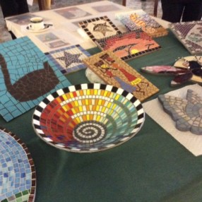 Bowl and display at U3A meeting Spring 2017