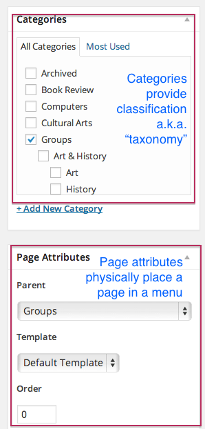 CategoriesPageAttributes