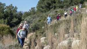 Healthy Walking - JAVEA - Cansaladas Valle del Sol @ Mailboxes at Las Laderas urb, near old El Campo Restaurant, Cami Cansalades.