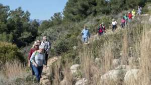 Healthy Walking - Teulada – Els Molins - Castellons @ Teulada at the Cemetery carpark