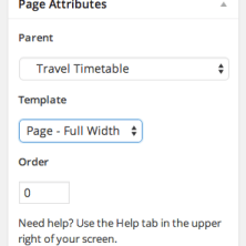 Select Page Full-Width