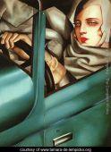 Self-Portrait-in-the-Green-Bugatti-large
