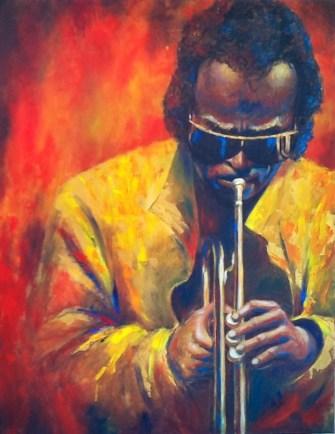 Painting by Stella Maarsman