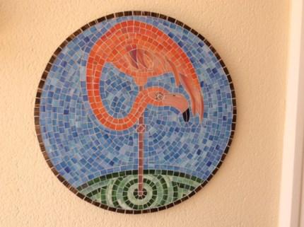 flamingo no shadow