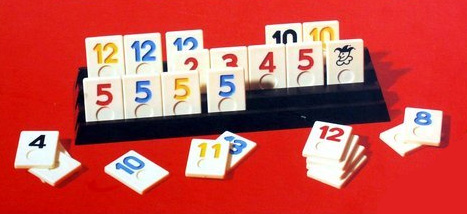 Rummikub @ Bar el Martillo (underneath Pepe La Sal)