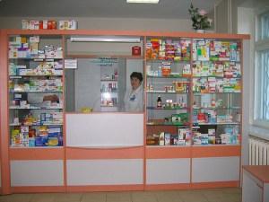 Типичная аптека в одном из украинских микрорайонов. (Фото: Роман (http://econet.ru/users/413)