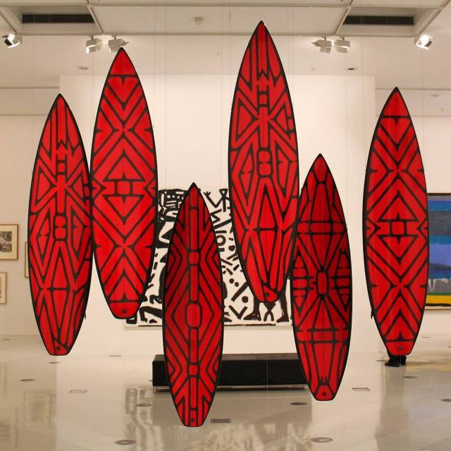Water sport equipment as art? Only in Australia