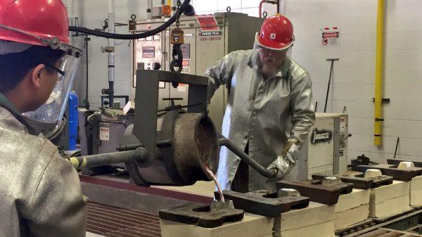 Engineering Foundry Makes Aluminum Elephants University