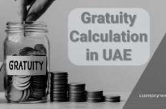 gratuity calculation in uae